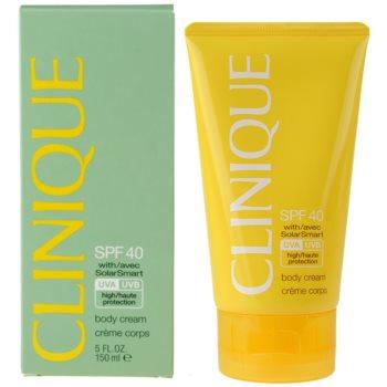 Clinique Sun crema pentru bronzat SPF 40 1