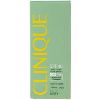 Clinique Sun crema pentru bronzat SPF 40 2