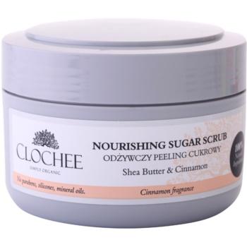Clochee Simply Organic Zucker-Peeling für den Körper
