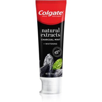 Colgate Natural Extracts Charcoal + White Pasta de dinti albire cu cãrbune activ imagine produs