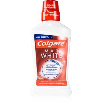 Colgate Max White Expert apa de gura cu efect de albire farã alcool imagine produs