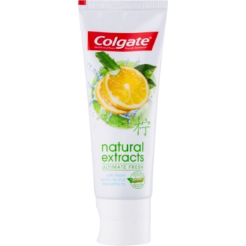 colgate natural extract ultimate fresh pasta de dinti