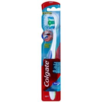 Colgate 360° Whole Mouth Clean perie de dinti fin