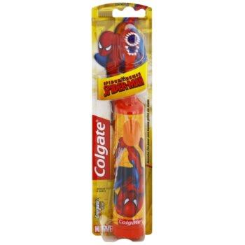 Colgate Kids Spiderman Children's Battery Toothbrush Extra Soft 1