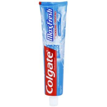 Colgate Max Fresh Cooling Crystals pasta de dinti pentru o respiratie proaspata aroma Cool Mint 125 ml