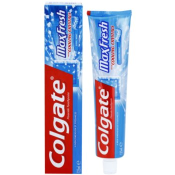 Colgate Max Fresh Cooling Crystals паста за зъби за свеж дъх 1
