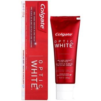 Colgate Optic White dentífrico com efeito branqueador 1