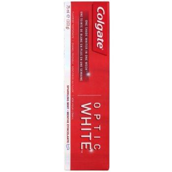 Colgate Optic White dentífrico com efeito branqueador 2
