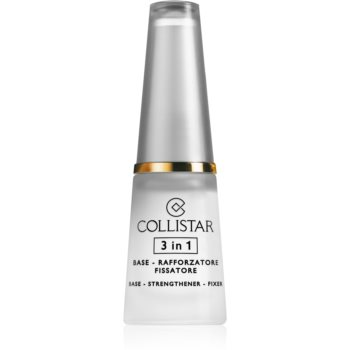 Collistar 3 In 1 Base, Strengthener & Fixer stärkender Nagellack 3in1 10 ml