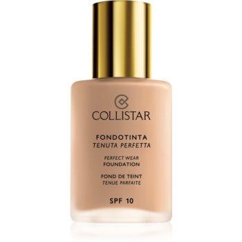 Collistar Perfect Wear Foundation fard lichid rezistent la apa SPF 10