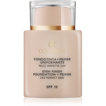 Collistar Foundation Perfect Skin bază de machiaj SPF 15