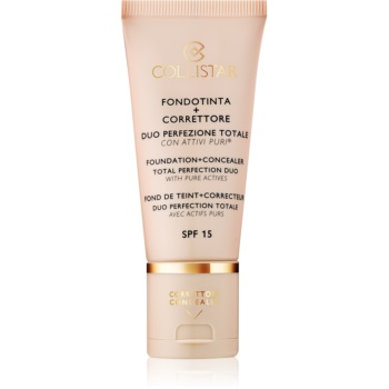 Collistar Total Perfection make-up si corector SPF 15