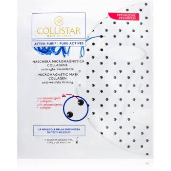 Collistar Pure Actives Micromagnetic Mask Collagen mascã micro-magneticã cu colagen imagine produs