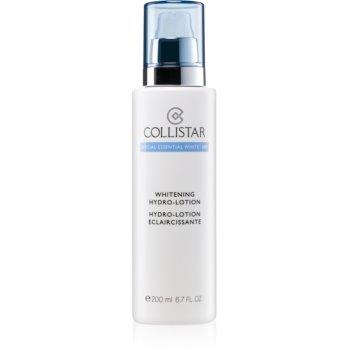 Collistar Special Essential White® HP Whitening Hydro-Lotion Lapte demachiant hranitor pentru o piele mai luminoasa poza noua