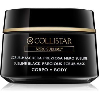 Collistar Nero Sublime® masca exfolianta pentru corp