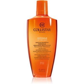 Collistar Special Perfect Tan After Shower-Shampoo Moisturizing Restorative gel de dus dupa soare pentru corp si par imagine produs