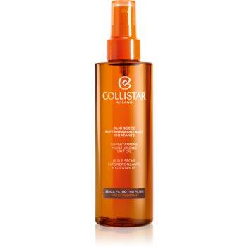 Collistar Special Perfect Tan Supertanning Moisturizing Dry Oil ulei pentru plaja fara factor de protectie imagine produs