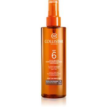 Collistar Sun Protection ulei de bronzat pentru piele uscata SPF 6