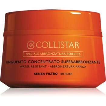 Collistar Supertanning Concentrated Unguent unguent concentrat fara factor de protectie imagine produs
