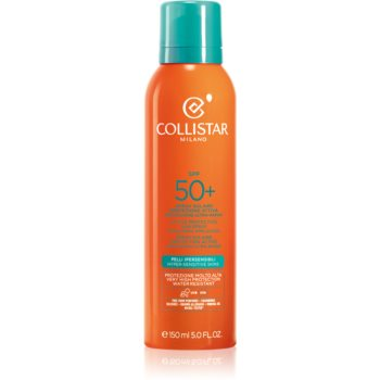 Collistar Sun Protection spray de protecție pentru față și corp SPF 50+