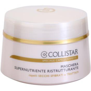Fotografie Collistar Special Perfect Hair výživná regenerační maska pro suché a křehké vlasy 200 ml