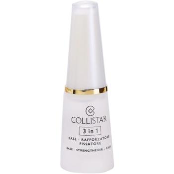 Collistar Nails Base posilující lak na nehty 3 v 1 10 ml