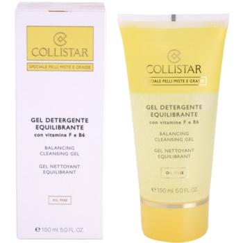 Collistar Special Combination And Oily Skins čisticí gel s vitamínem F a B6 1