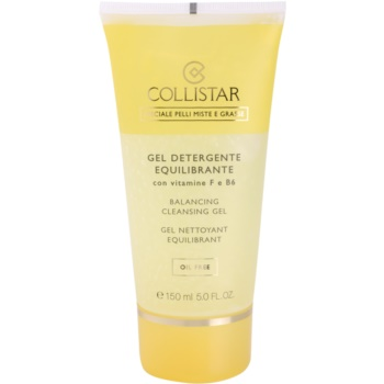 Fotografie Collistar Special Combination And Oily Skins čisticí gel s vitamínem F a B6 150 ml