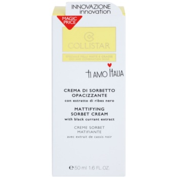 Collistar Special Combination And Oily Skins emulsão hidratante matificante 2