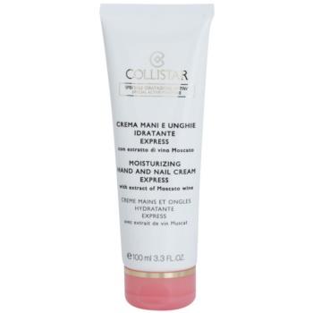 Fotografie Collistar Special Active Moisture hydratační krém na ruce a nehty s rozjasňujícím účinkem 100 ml