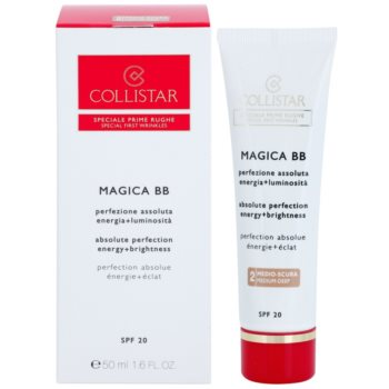 Collistar Special First Wrinkles BB creme para pele perfeita e unificada com efeito antirrugas 1