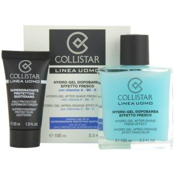 Collistar Man gel after shave + hidratante para todos os tipos de pele