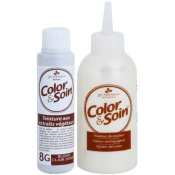 Color & Soin Golden Culoare permanenta pentru par cu extract de plante 2