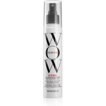Color WOW Get in Shape spray pentru fixare pentru păr cu volum