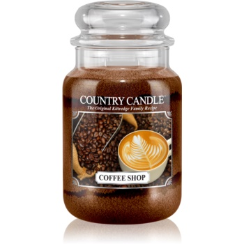 Country Candle Coffee Shop lumanari parfumate 652 g