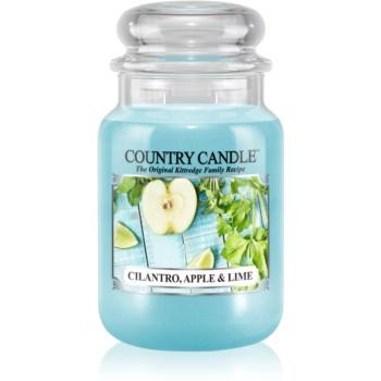 Country Candle Cilantro, Apple & Lime lumanari parfumate 652 g