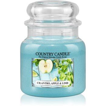 Country Candle Cilantro, Apple & Lime lumanari parfumate 453 g