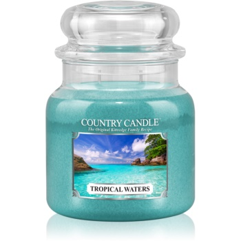 Country Candle Tropical Waters lumânare parfumată