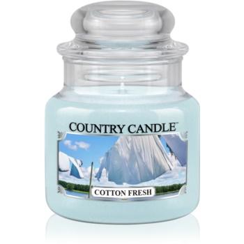 Country Candle Cotton Fresh lumanari parfumate 104 g
