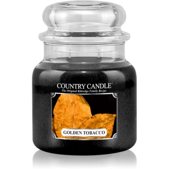 Country Candle Golden Tobacco lumânare parfumată