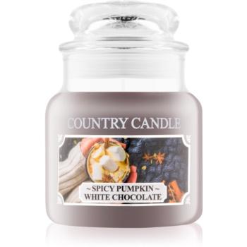 Country Candle Spicy Pumpkin White Chocolate lumanari parfumate 104 g