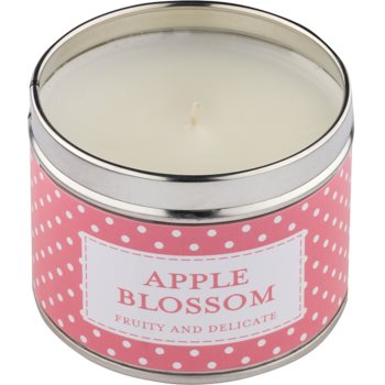 Country Candle Apple Blossom Duftkerze    in Blechverpackung 1