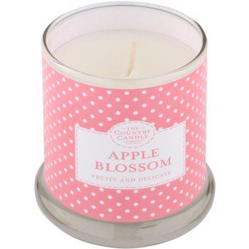Country Candle Apple Blossom ароматна свещ    в стъкло с капачка 1