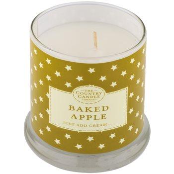 Country Candle Baked Apple ароматна свещ    в стъкло с капачка 1