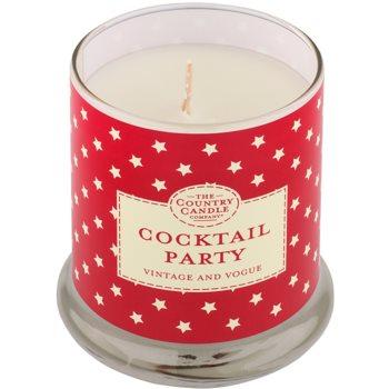 Country Candle Cocktail Party vela perfumado   em vidro com tampa 1