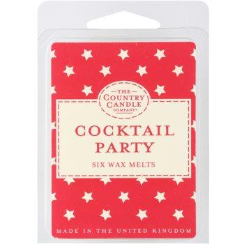 Country Candle Cocktail Party cera derretida aromatizante