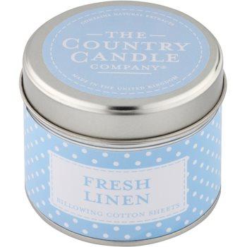 Country Candle Fresh Linen lumanari parfumate