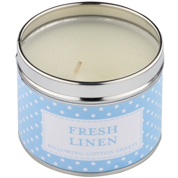 Country Candle Fresh Linen vela perfumado   Em placa 1