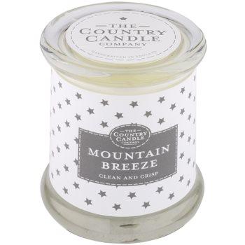 Country Candle Mountain Breeze Duftkerze    im Glas mit Deckel