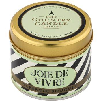 Country Candle Tuberose Bouquet vela perfumada    en lata